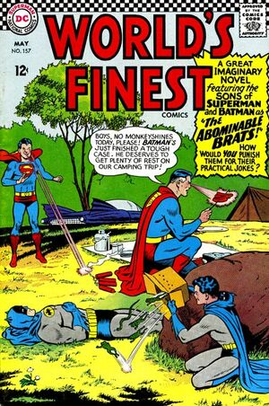 Cover for World's Finest #157 (1966)