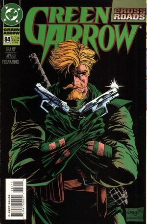Cover for Green Arrow #84 (1994)