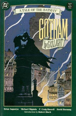 Cover for Batman: Gotham by Gaslight #1 (1989)