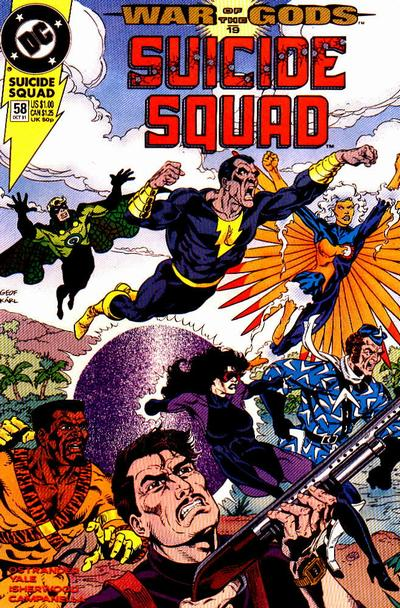 Image result for black adam vs the suicide squad