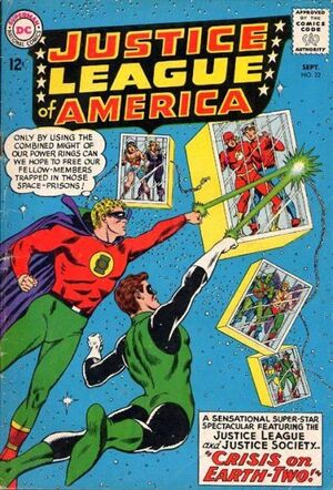 Cover for Justice League of America #22 (1963)