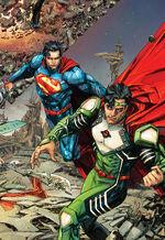 Superman and Jor-El