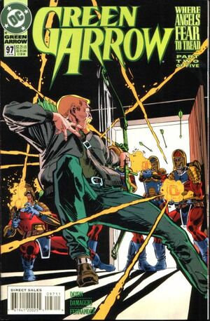 Cover for Green Arrow #97 (1995)