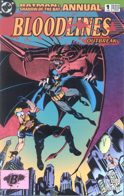 [Review] Batman Shadow of the Bat Annual : Bloodlines (1993) Latest?cb=20080506200248