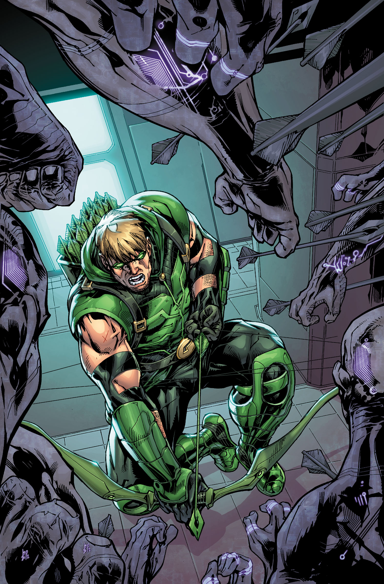 Image Green Arrow Vol 5 10 Textlessjpg DC Database