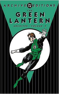 Cover for the The Green Lantern Archives Vol. 5 Trade Paperback