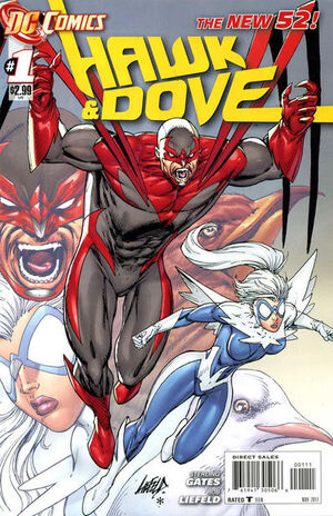 Cover for Hawk and Dove #1 (2011)