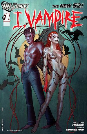 Cover for I, Vampire #1 (2011)