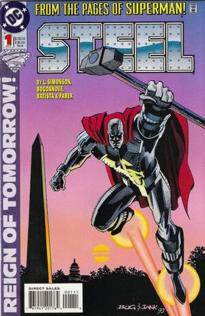 Cover for Steel #1 (1994)