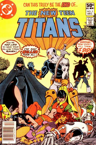 Slade Wilson Teen Titans