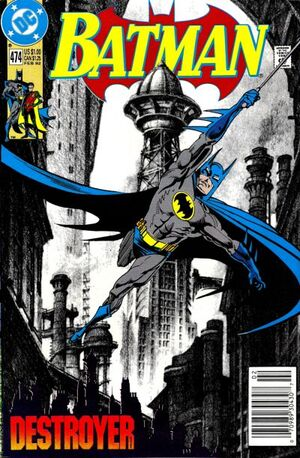 Cover for Batman #474 (1992)
