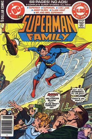 Cover for Superman Family #196 (1979)