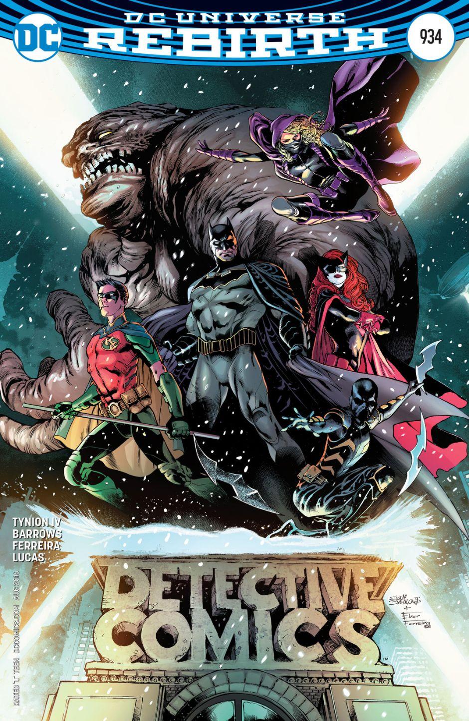 Resultado de imagen para dc rebirth detective comics