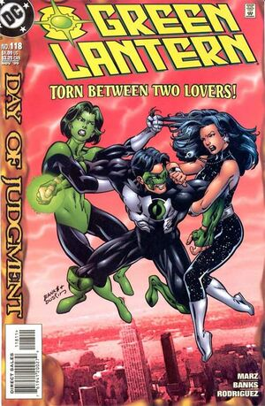 Cover for Green Lantern #118 (1999)