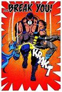 Bane breaks the Batman