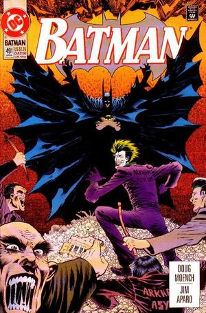 Cover for Batman #491 (1993)
