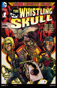 JSA Liberty Files The Whistling Skull Vol 1 1