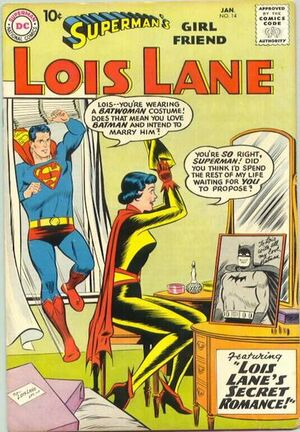 Cover for Superman's Girlfriend, Lois Lane #14 (1960)