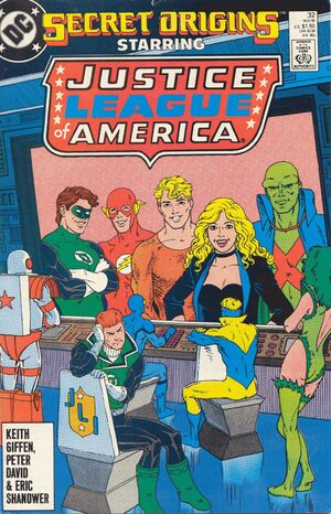 Cover for Secret Origins #32 (1988)