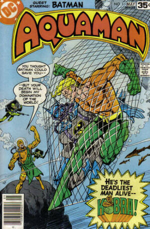 Cover for Aquaman #61 (1978)