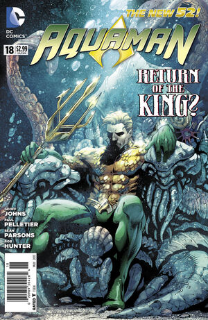 Cover for Aquaman #18 (2013)