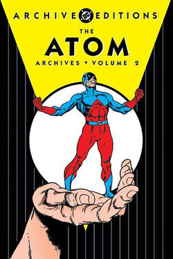 Cover for the The Atom Archives Vol. 2 Trade Paperback