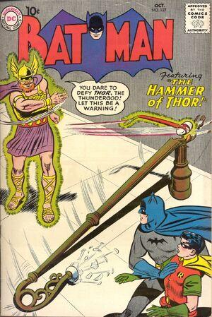 Cover for Batman #127 (1959)