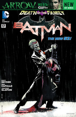 Cover for Batman #17 (2013)