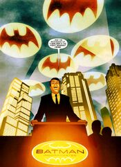 Bruce Wayne goes public with Batman Inc..