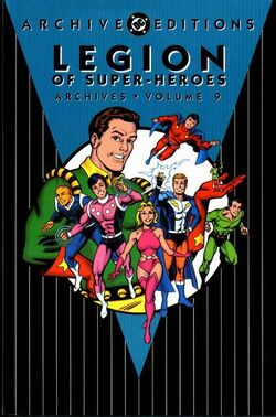 Cover for the Legion of Super-Heroes Archives Vol. 9 Trade Paperback