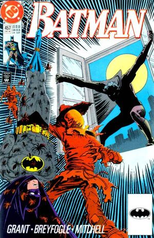 Cover for Batman #457 (1990)