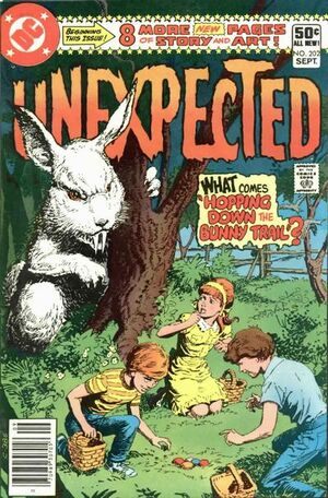 Cover for Unexpected #202 (1980)