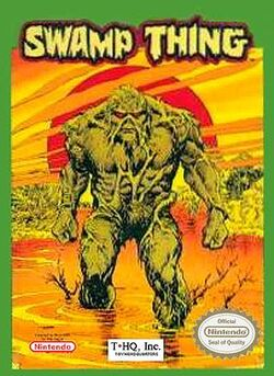 Swamp Thing NES