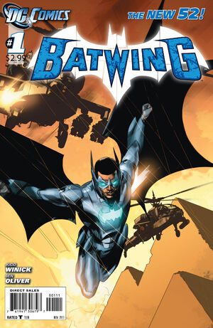 Cover for Batwing #1 (2011)