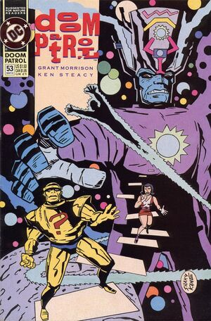 Cover for Doom Patrol #53 (1992)
