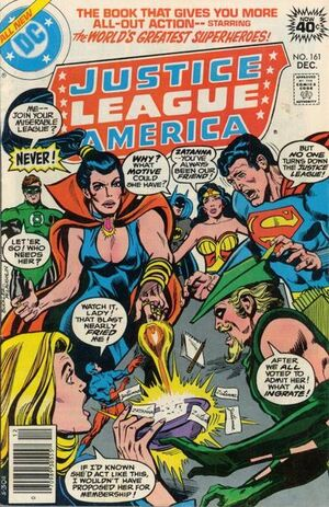 Cover for Justice League of America #161 (1978)