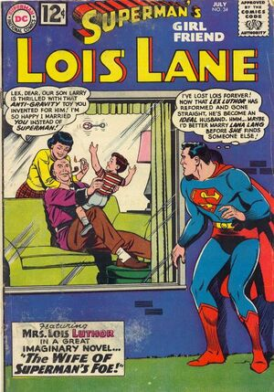 Cover for Superman's Girlfriend, Lois Lane #34 (1962)