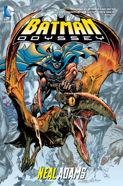 Cover for the Batman: Odyssey Trade Paperback
