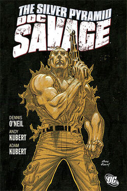 Cover for the Doc Savage: The Silver Pyramid Trade Paperback