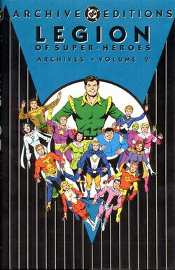 Cover for the Legion of Super-Heroes Archives Vol. 2 Trade Paperback