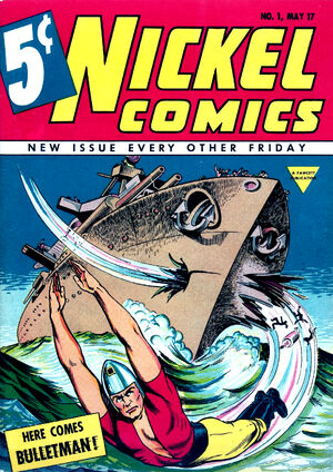 Cover for Nickel Comics #1 (1940)