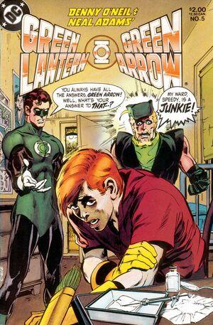 Cover for Green Lantern/Green Arrow #5 (1983)