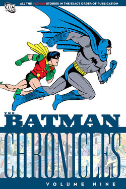 Cover for the Batman Chronicles Vol 9 Trade Paperback
