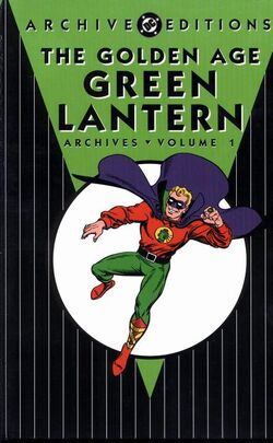 Cover for the The Golden Age Green Lantern Archives Vol. 1 Trade Paperback