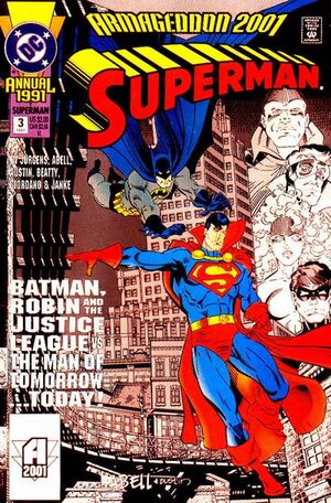 Cover for Superman Annual #3 (1991)