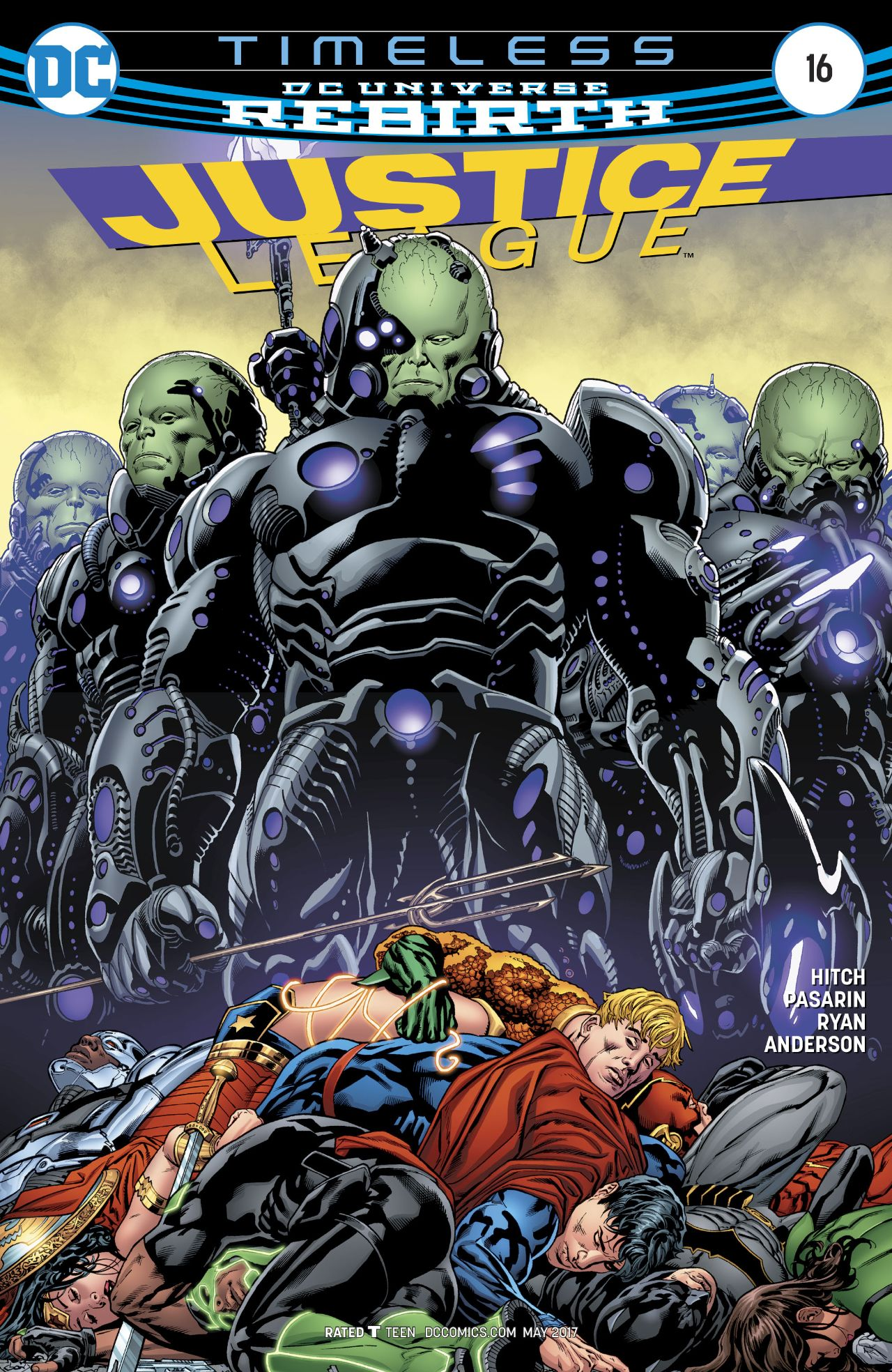 Justice League Vol 3 16   DC Database   FANDOM powered by ...