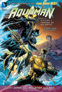 Cover for the Aquaman: Throne of Atlantis Trade Paperback