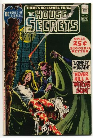 Cover for House of Secrets #93 (1971)