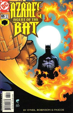 Cover for Azrael: Agent of the Bat #65 (2000)