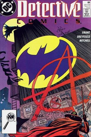 Cover for Detective Comics #608 (1989)